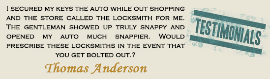 locksmith missouri city testmonials